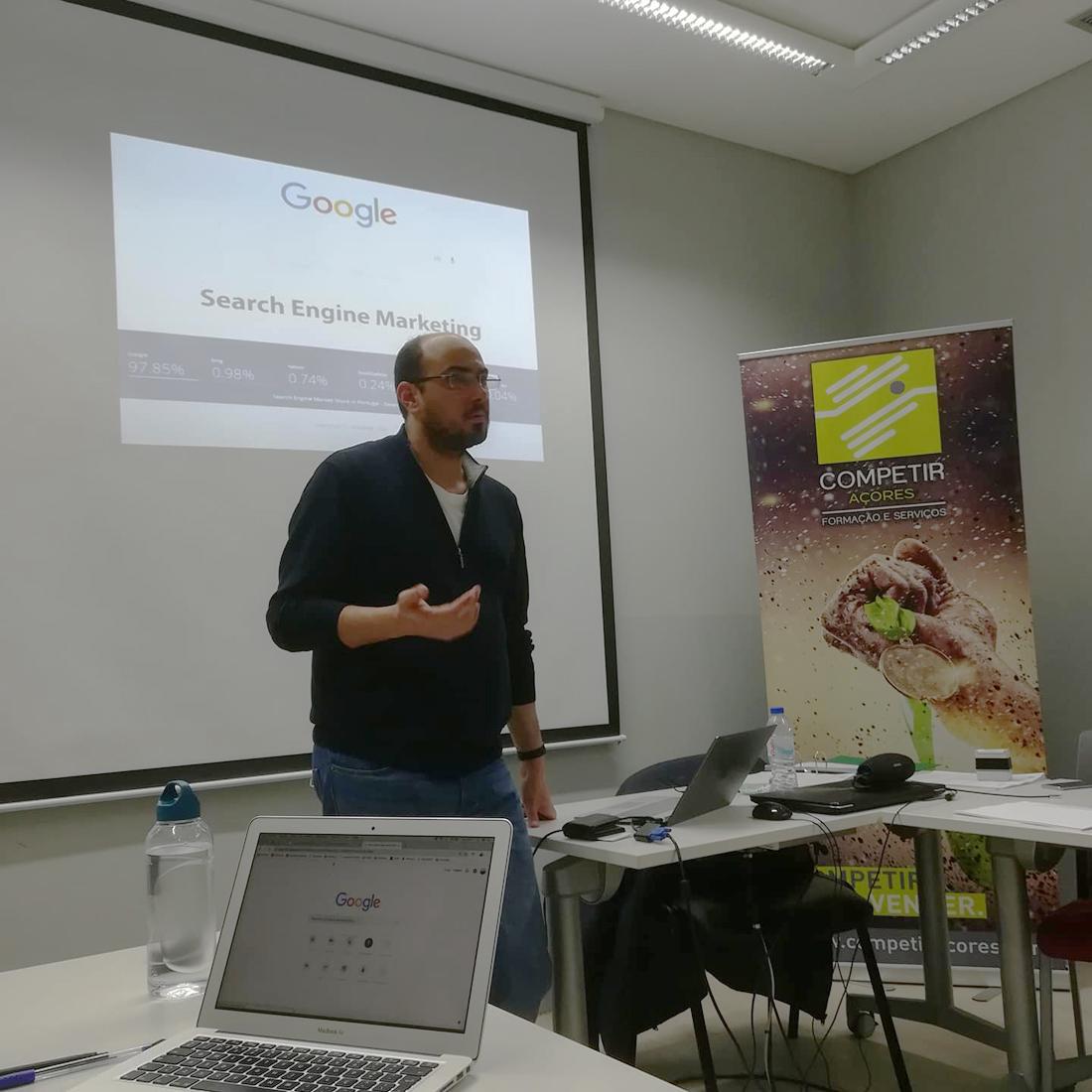 Emanuel Grilo - Formação - Competir Açores